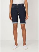 George Knee Length Denim Shorts