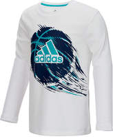 adidas ClimaLite Graphic-Print Shirt, Little Boys (4-7)
