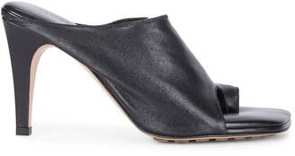 Bottega Veneta Open Toe Mules in Black | FWRD