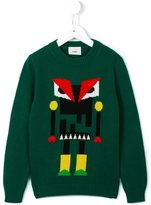 Fendi robot monster jumper