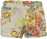 Anthem of the Ants Garden Short (Toddler/Kid) - Neon Floral-2T