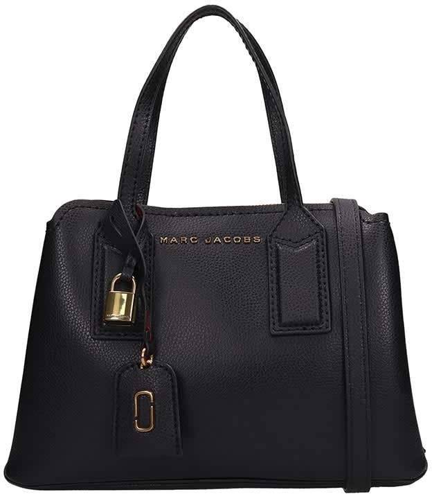 Marc Jacobs Black Grained Leather The Editor 29 Bag