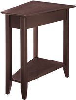 Convenience Concepts 7105060-ES Modern American Heritage Wedge End Table