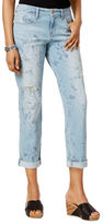 Style And Co. Printed Boyfriend Jeans