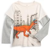 Tea Collection Toddler Boy's Saltmarket Graphic T-Shirt