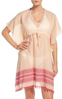 Echo Women's Pom Cover-Up Caftan