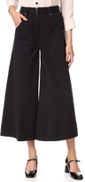 Marc Jacobs Patch Pocket Culotte Jeans