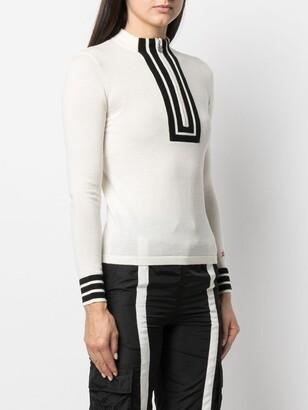 Perfect Moment Attu high neck knit sweater