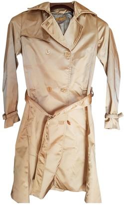 Romeo Gigli Camel Trench Coat for Women