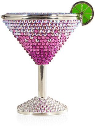 Judith Leiber Couture Crystal Martini Pillbox