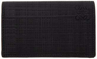 Loewe Black Linen Card Holder