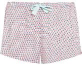 Calvin Klein Underwear Printed Voile Pajama Shorts - Pastel pink