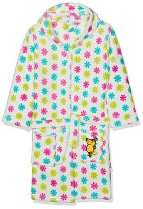 Playshoes DIE MAUS Girls' Fleece-Bademantel DIE MAUS Blumen Dressing Gown