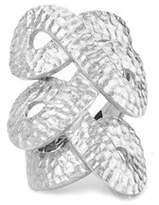 Rivka Friedman Hammered Satin Ring.