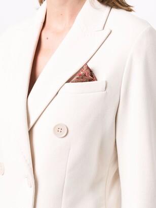 Circolo 1901 Double-Breasted Cotton Blazer