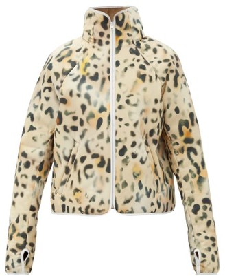 Kassl Editions Leopard-print Technical Padded Jacket - Animal