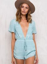 MinkPink New Women's Jungle Playsuit