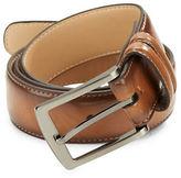 Black Brown 1826 Tan Leather Belt