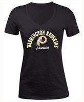 5th & Ocean Women's Washington Redskins Checkdown LE T-Shirt