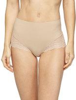 Spanx Undie-Tectable®; High-Waist Lace Boyshorts, Soft Nude