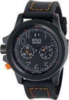 ESQ by Movado ESQ Movado Men's 07301423 esq Fusion Ion-Plated Strap Watch