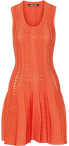 Roberto Cavalli Stretch-knit Mini Dress - Coral
