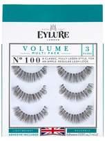 Eylure Naturalites Superfull False Eyelashes 3 Pair - 100