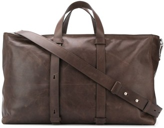 Orciani Vintage-Style Duffle Bag