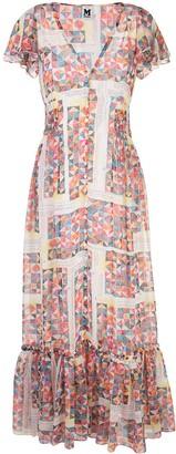 M Missoni Geometric Print Flared Dress
