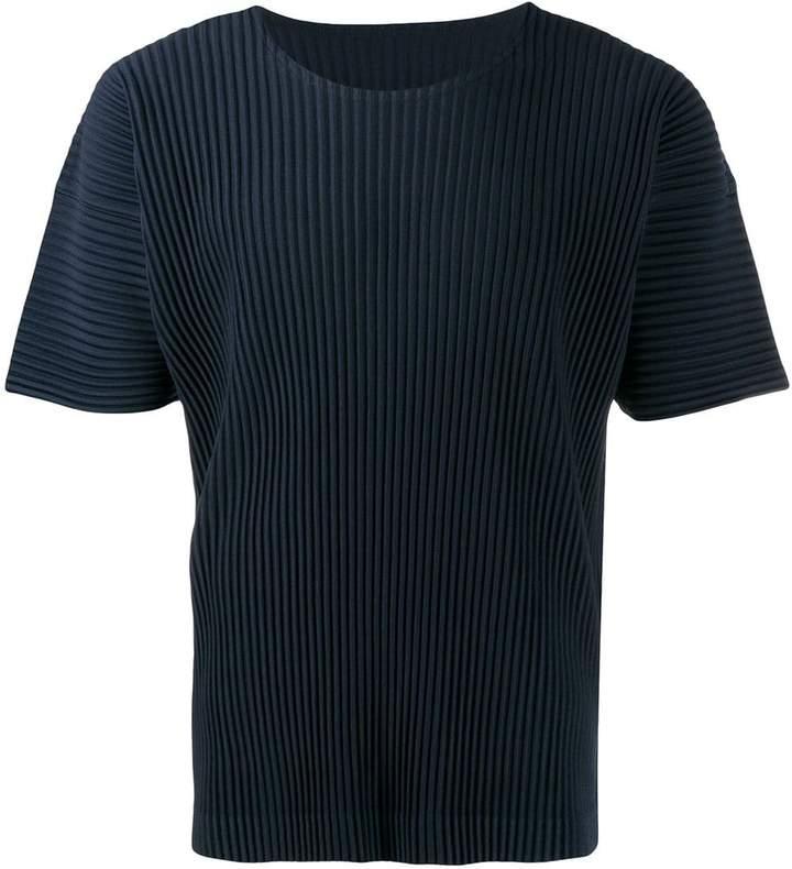 Issey Miyake plissé T-shirt