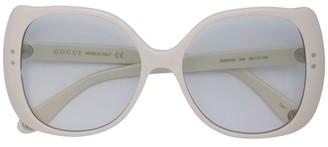 Gucci Round Square Acetate Frame Sunglasses
