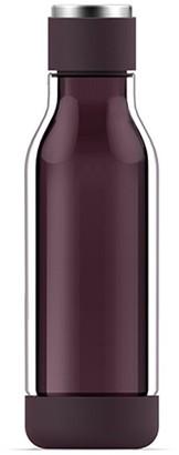 Asobu Inner Peace Glass Water Bottle - Burgundy