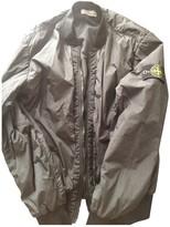 Stone Island Black Polyester Jackets