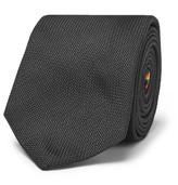 Paul Smith 6cm Silk Tie - Black