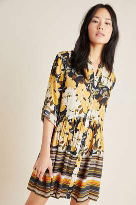 Simona Bl Nk Bl-nk Printed Tunic Dress