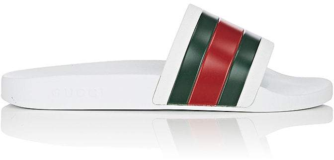 Gucci Men's Pursuit '72 Rubber Slide Sandals