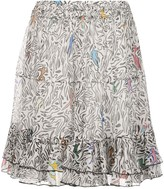 M Missoni abstract print flared skirt