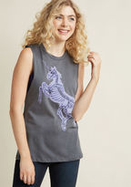 ModCloth X-Ray Express Tank Top in XL