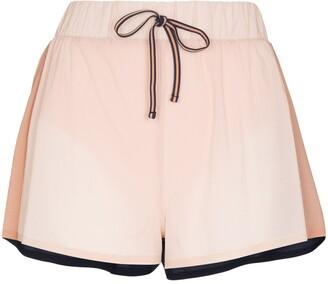 The Upside Efrem colour-block running shorts