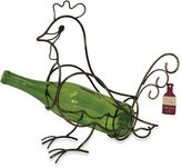 Boston Warehouse Vineyard Road Rooster Wine Bottle Holder