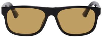 Gucci Black and Orange GG0770SA Sunglasses