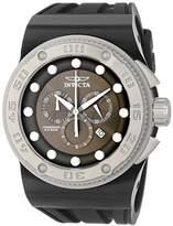 Invicta Men's 12295 Akula Chronograph Olive Dial Black Silicone Watch
