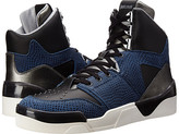Just Cavalli Viper and Textured Leather Hi-Top