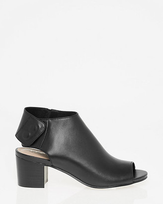 Le Château Leather Slingback Shootie