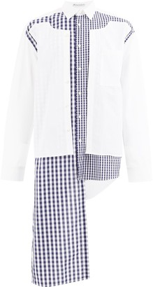 J.W.Anderson gingham two-layer shirt