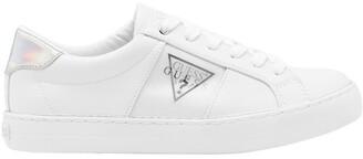 GUESS Gimmie4 White/Black/Silver Sneaker