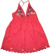 Free People Red Polyester Dresses