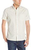 Nautica Men's Leaves Print Short Sleeve Shirt