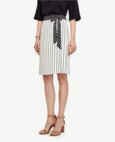Ann Taylor Mixed Stripe Full Skirt