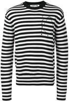 McQ striped jumper